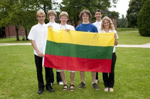 Lietuvos komanda Tarptautinėje matematikos olimpiadoje Bremene